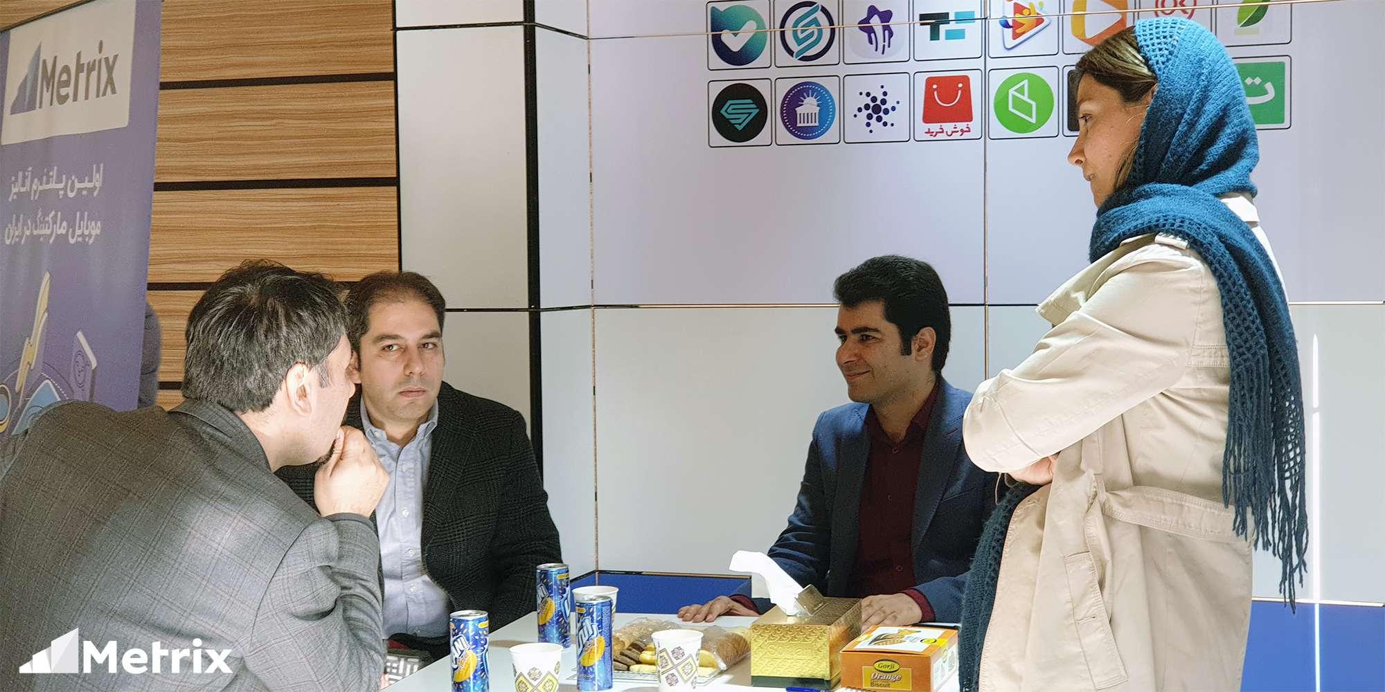 ارتباط با مشتریان در نمایشگاه تراکنش ایران 2019